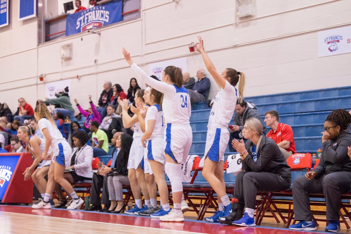 St Francis Brooklyn Wbb On Twitter Our Ladies Come From Behind