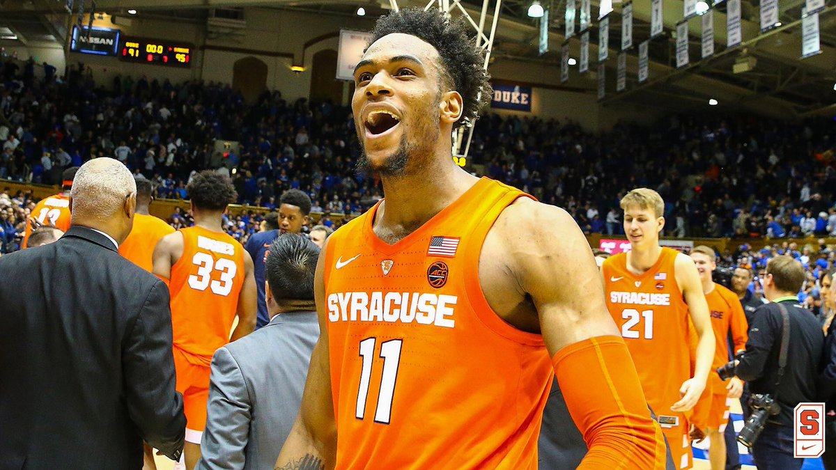 Syracuse Basketball On Twitter Therealboeheim Is Now 3 2 In