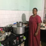 Image for the Tweet beginning: This lady cooked for about