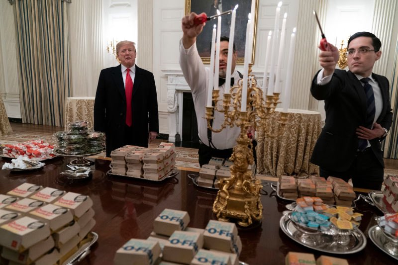 Presidents. They're just like us. 😳 #TrumpShutdown #ThisIsNotNormal