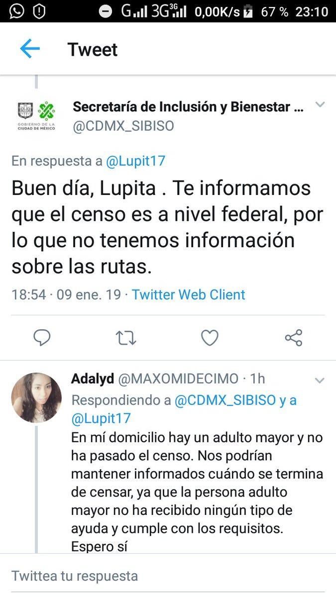 Lupita On Twitter Bienestarmx Buenas Noches Me Interesa
