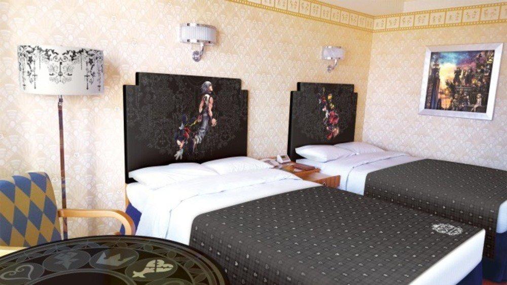 """ディズニーアンバサダーホテルに「キングダム ハーツ」テーマの客室、 """"キーブレード""""がルームキーに - https://t.co/58oBmHqhEY"""