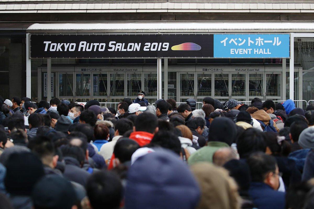 東京オートサロン2019は3日間合計で過去最多33万666人が来場。2020年は1月10~12日に開催 https://t.co/QCMDMrRX7h #TAS #TAS2019 #東京オートサロン #東京オートサロン2019