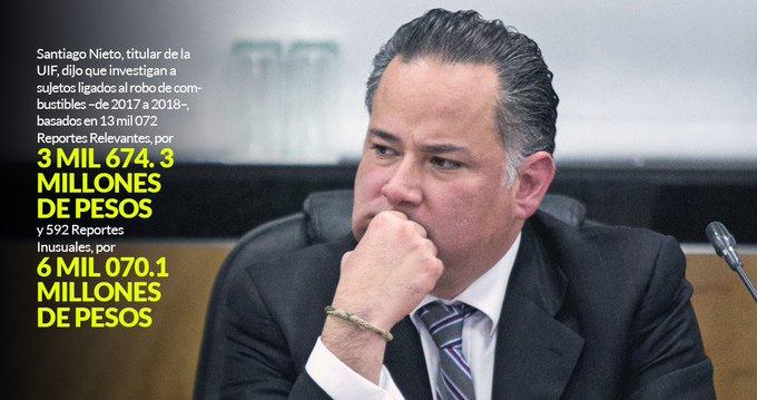Santiago Nieto: En el combate al huachicol saldrán más políticos ligados y habrá cero tolerancia Foto