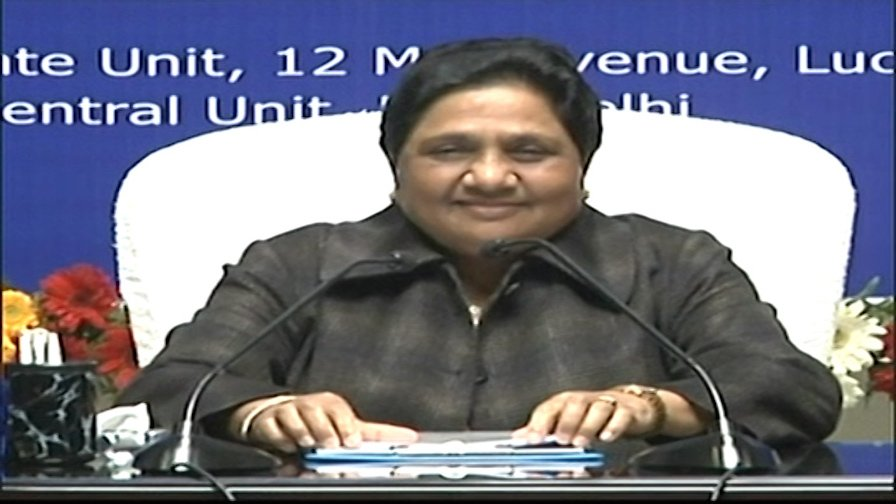 LIVE: 'Farmers will not benefit from partial loan waver of #Congress' says #Mayawati  https://t.co/DklVA2CsOX