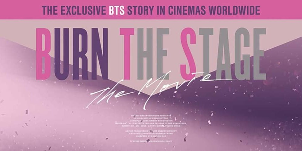 BTS' 'Burn the Stage: The Movie' to come to YouTube https://t.co/jbb9YfP65d