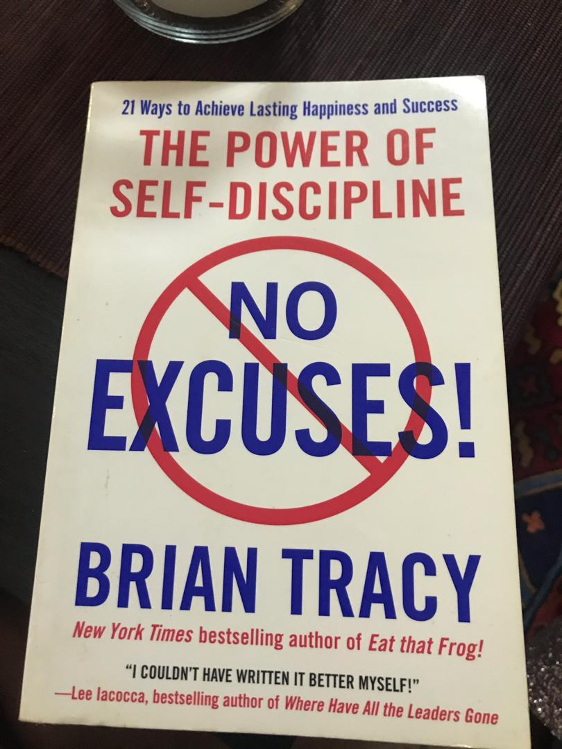RECOMMENDATIONS: The Power Of Self-Discipline.  An excellent author and motivational speaker, Brian Tracy who understands what traits turn good to great.