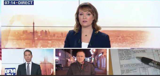 🔴Ce matin @PremiereEdition spéciale #grandebatnational sur @BFMTV Christophe Delay, Ashley Chevalier en direct de #Bourgtheroulde Photo