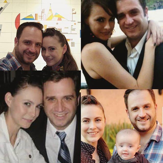 Y cada día te amo más!!! #tenyearchallenge . . . #love #family #couplesgoals #first10years #husbandandwife