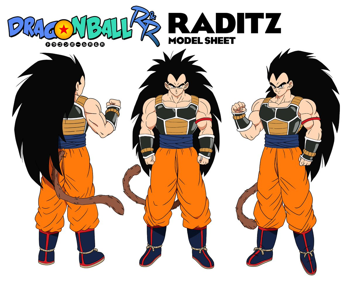 Official Raditz character sheet by @HoneyNutQu33rio, @IamTheTrev and I! #DragonBallRR @MasakoX