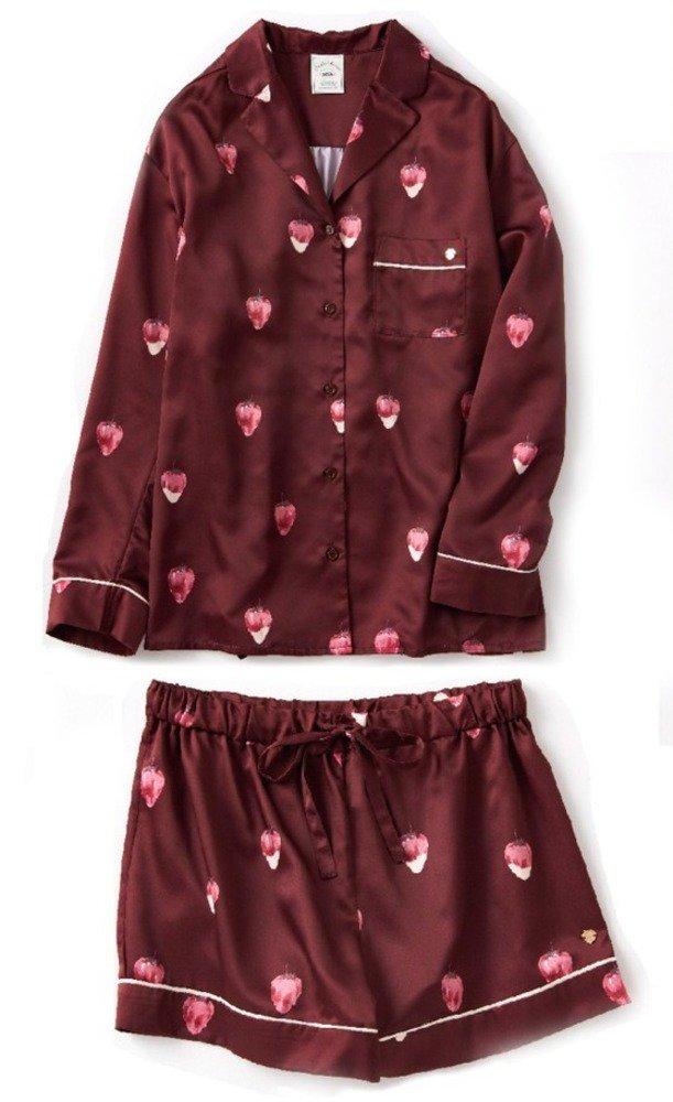 ジェラート ピケのバレンタイン、苺×チョコ柄ルームウェアやショコラ色チュールキャミソール - https://t.co/amkYOjDI0h