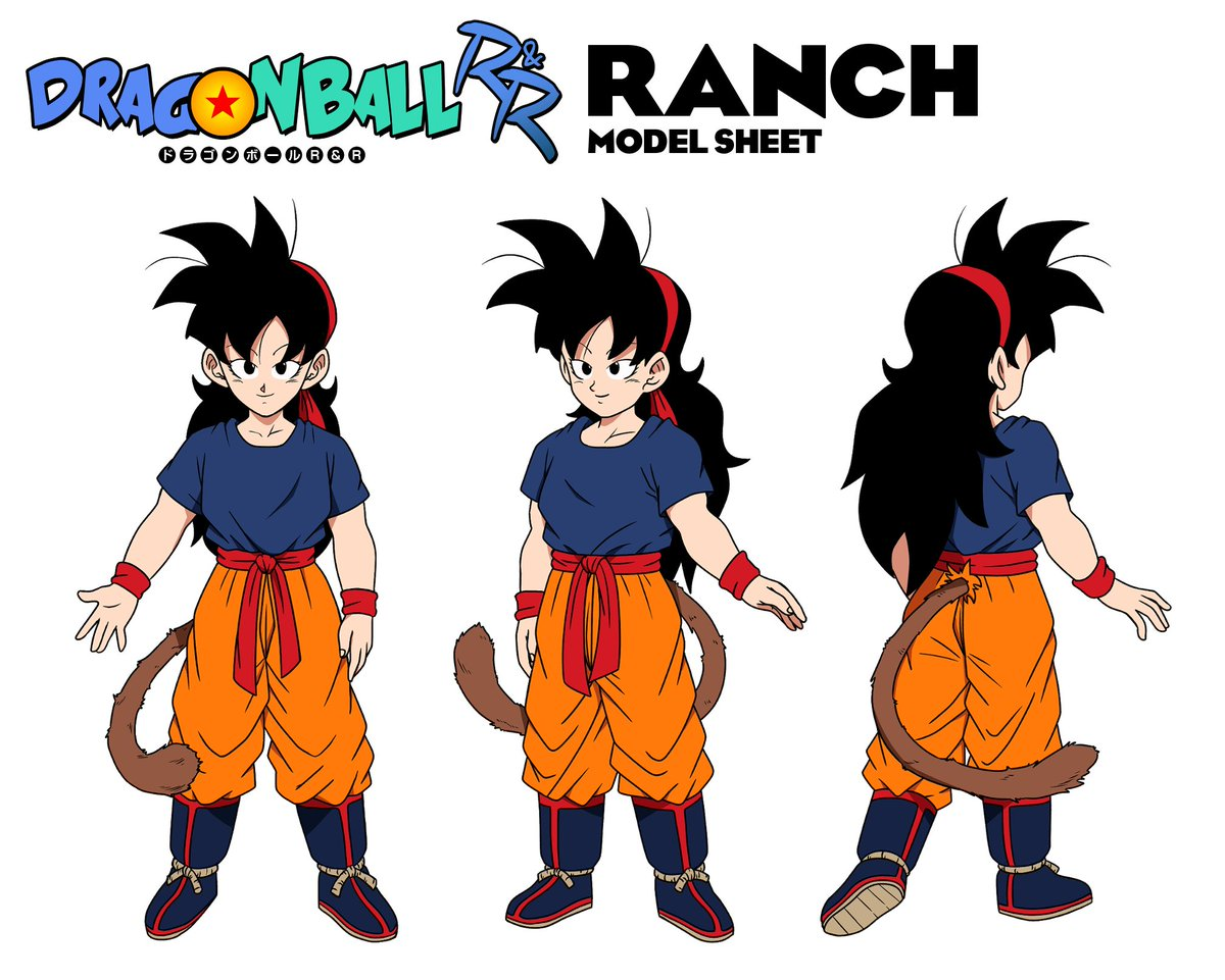 Official Ranch character sheet by @Burrastuhridah and I! #DragonBallRR @MasakoX