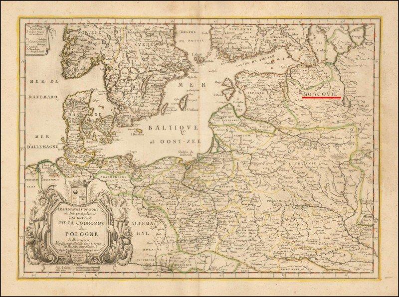RT @TroshV: Карта 1666г изготовлена в Париже. Карты Европы, 350 лет назад: Украина есть. Россия? Неа, не знаем. https://t.co/N9tOq7eXOf