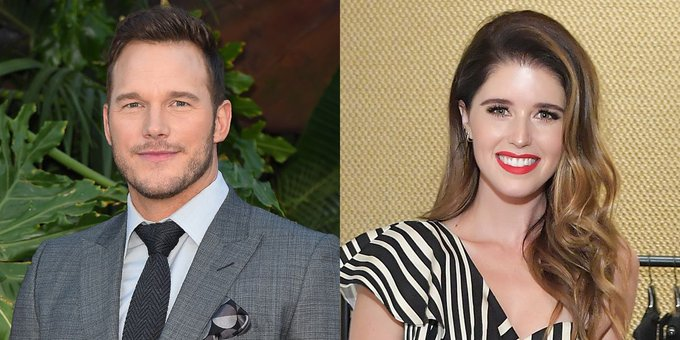 Chris Pratt and Katherine Schwarzenegger Are Engaged and the Ring Is Incredible, Obviously Photo