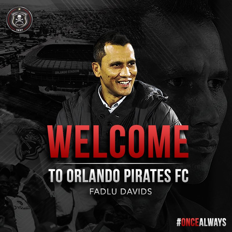 ☠ Welcome Fadlu 🖥 https://t.co/mvRQMUDH1a ⚫⚪🔴⭐ #OrlandoPirates #OnceAlways