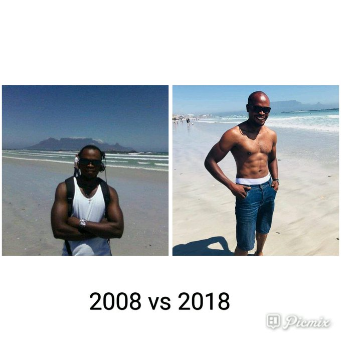 Challenge accepted. 2008 vs 2018👍👌🏼 #ChallengeAccepted #2008v2018 Photo