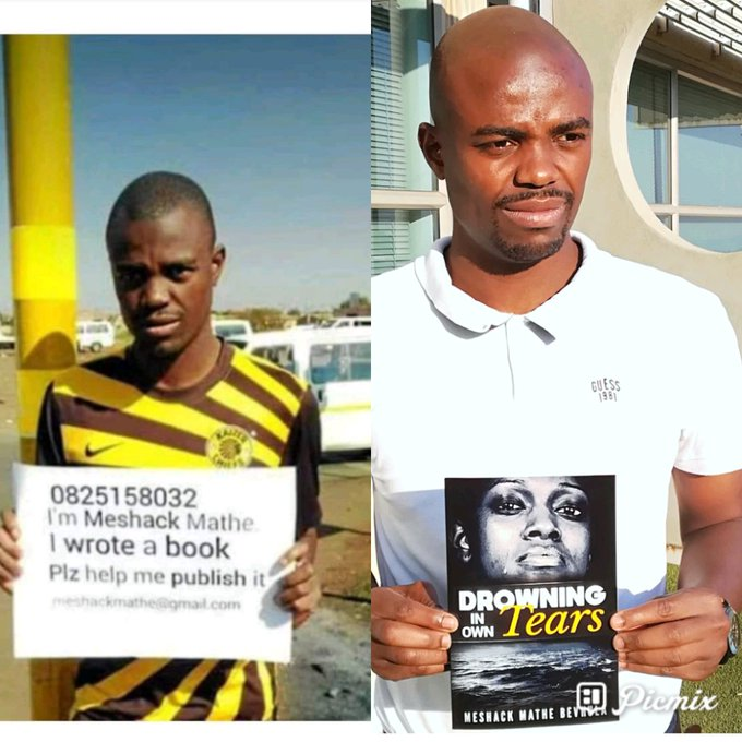 #2008v2018 challenge Before #DrowningInOwnTears book 😝😝😝 Photo