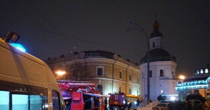 В Киеве задержан предполагаемый поджигатель Киево-Печерской лавры: Фото