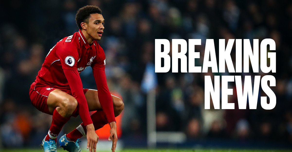 B/R Football's photo on Trent Alexander-Arnold