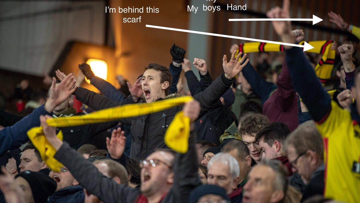 Fame at last #WatfordFC #crywat