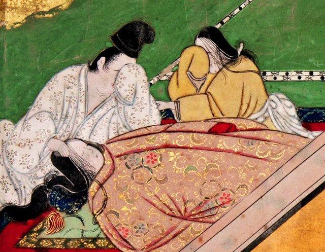 【フランスで】横たわる夕顔、嘆く光源氏…幻の「夕顔の死」見つかる https://t.co/YC3k6mNLQy  全容がわからないこともあり「幻」とも呼ばれる「盛安本源氏物語絵巻」のうち、夕顔の死を描いた場面が新たに見つかった。