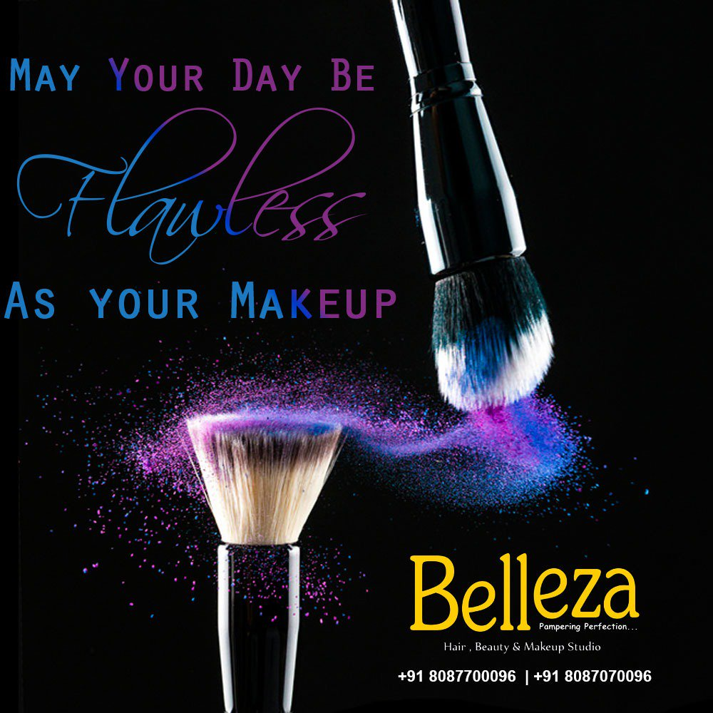 Some words speak a lot 💛💛💛 Feel the depth and go for it... . . . May your day be flawless as your Makeup.😊 #beauty #makeup #skincare #glow #flawless #blending #allaboutmakeup #beautygoals #puneladies #punegirls #punekars #puneri Belleza Studio Senapati Bapat Road Pune