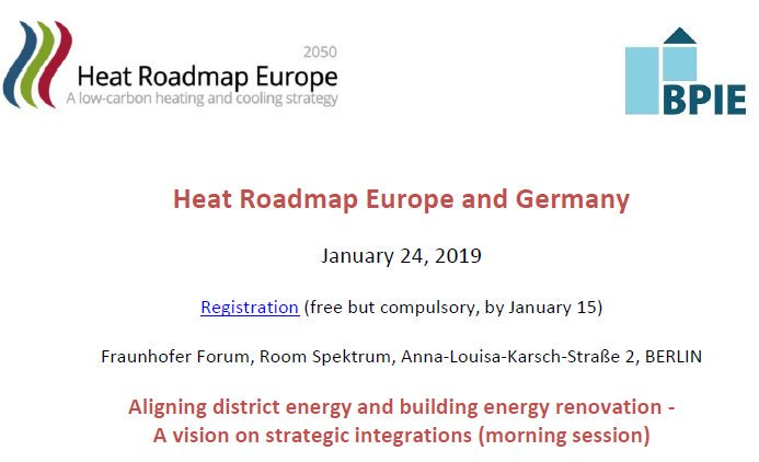 Last chance to register today!! Sign up for our 2nd to last #HRE workshop jointly organised with our partner  @BPIE_eu on 24 Jan in #Berlin! https://heatroadmap.eu/upcoming-hre-workshop-in-berlin/…  #HRE2050
