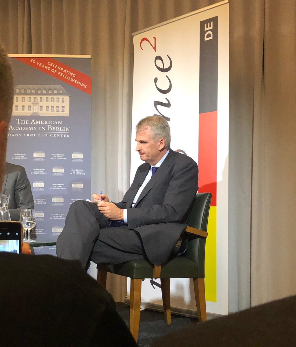 """Fascinating and timely @IQ2DE discussion last night with @TimothyDSnyder on the ways that modern leaders channel forms of fascism, and how this has been enabled by the political mainstream's belief in the """"inevitability"""" of liberal democracy."""