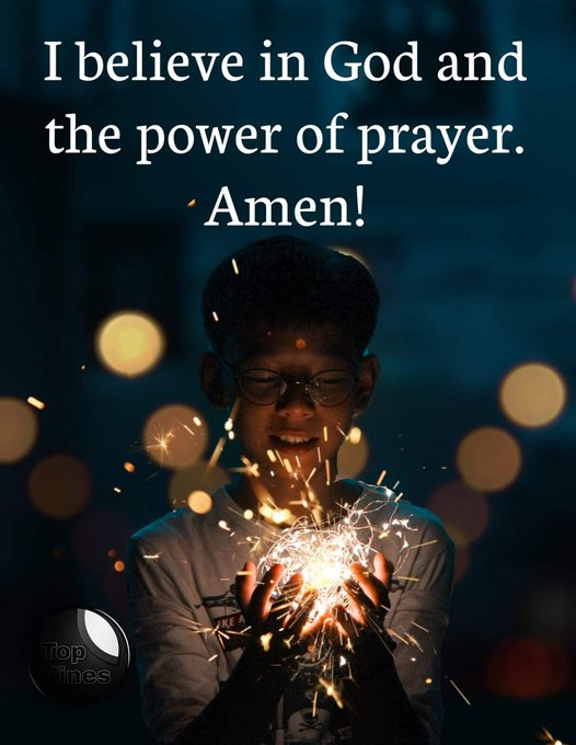 I believe in God and the power of prayer. Amen! ...... #MondayMotivation Photo