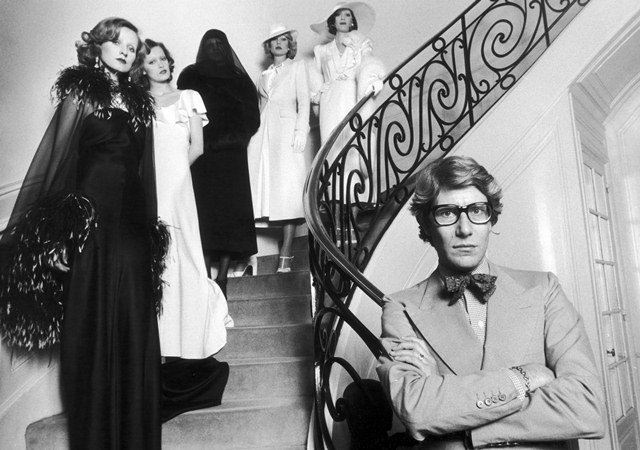 On Twitter Yves Saint Laurent Was A European Fashion Designer Born On August 1 1936 In Algeria As A Teen He Left For Paris To Work For Designer Christian Dior In