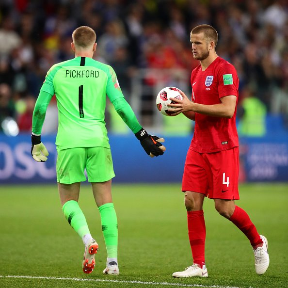 A moment England fans will never forget.  Happy birthday Eric Dier