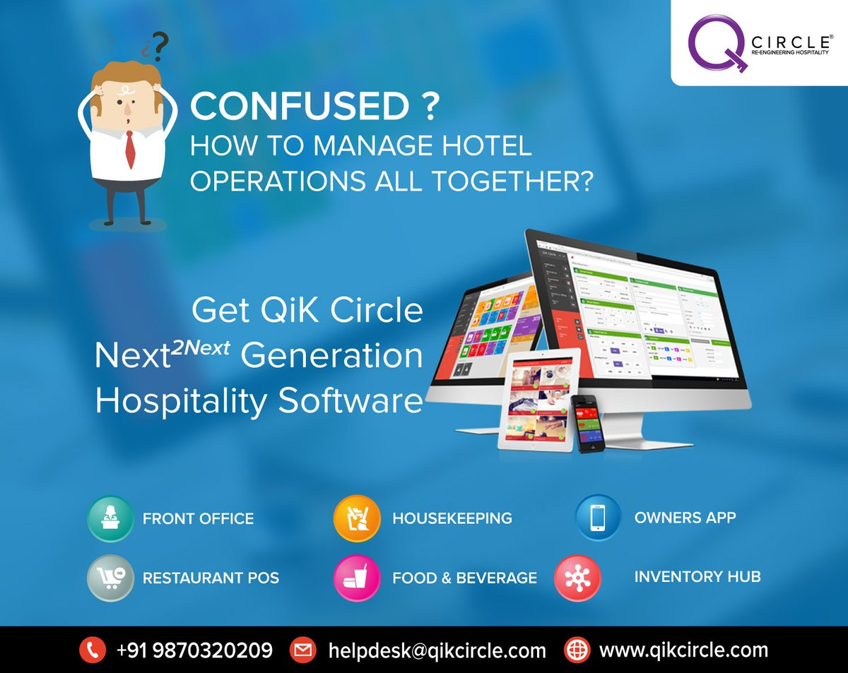 Now running a hotel becomes easy and efficient with the all