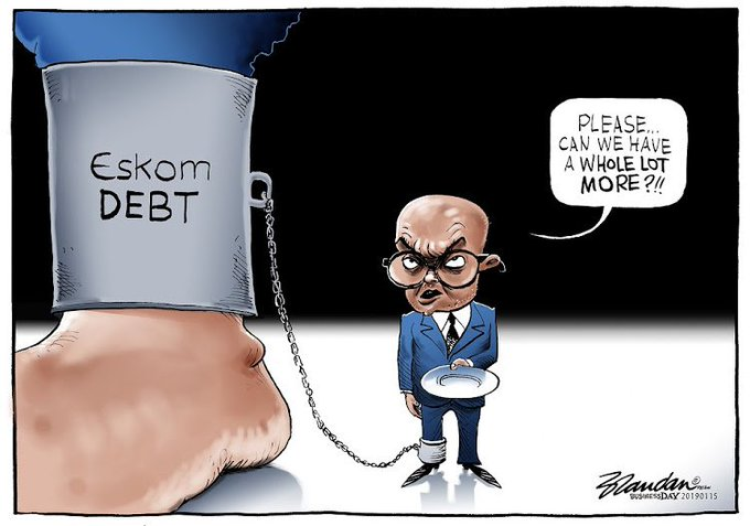 CARTOON: Eskom's debt behemoth Photo