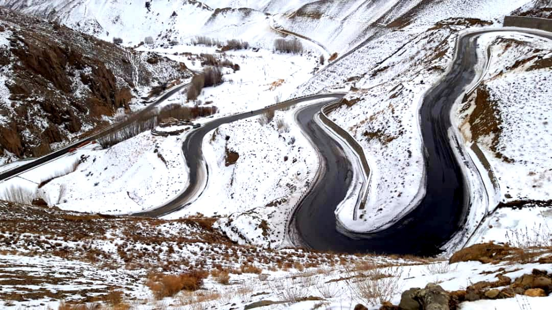 The beauty of winter in #Bamiyan province - Photos: Saber Perzad #Afghanistan