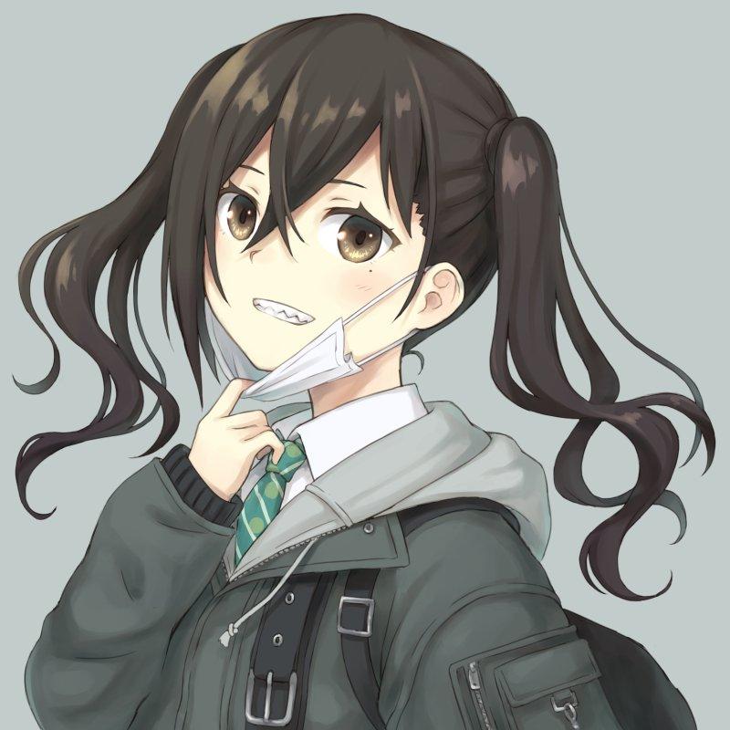 """104@3日目西H-28a on Twitter: """"砂塚あきら。ギザ歯かわいい… """""""