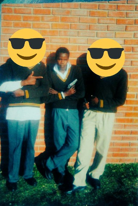 Let me partake in this #10YearChallenge. Ndaphantse ndaphalala damn. #2008v2018 @xolanizekani @toyzamlobeli Photo