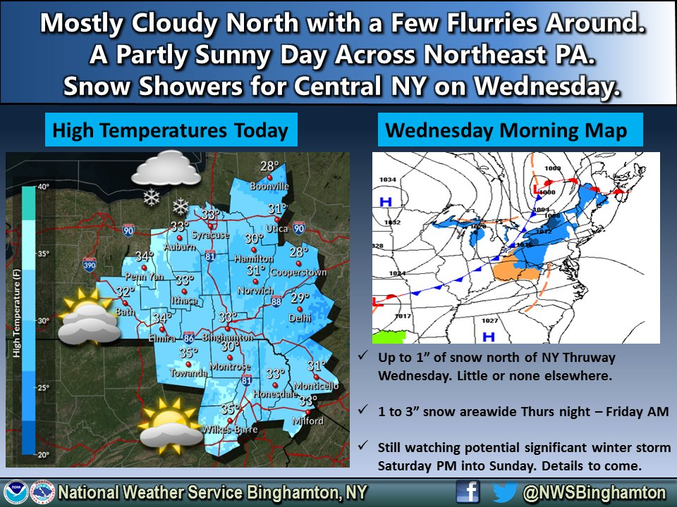 Weather advisories expanded as moderate, heavy snow expected in most of Finger Lakes