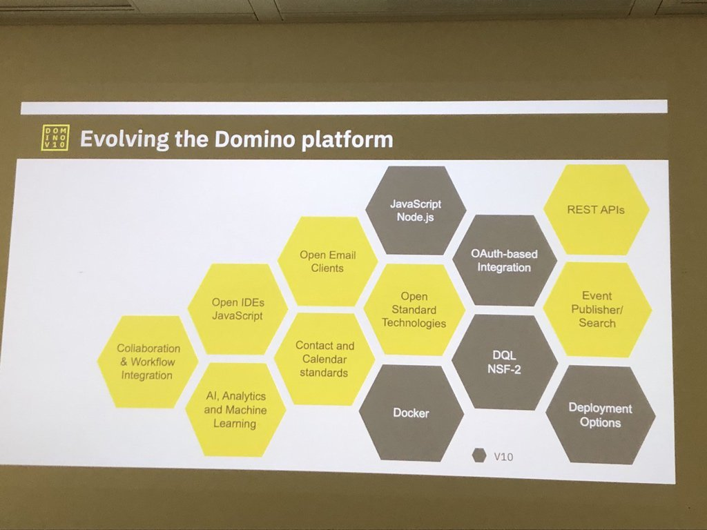 Evolving the Domino platform - London V11 Jam #dominoforever #Domino10 #domino2025