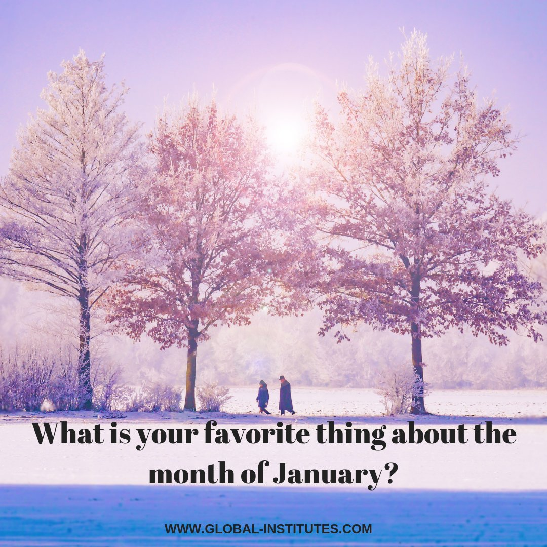 Practice using this week's word of the week, January. Tell us your favorite thing about January in the comments below. #inglese #parola #parolanuova #gennaio #mese #impara #imparare #practica #practicare #commento #rispondi #rispondere #goglobal #acilia
