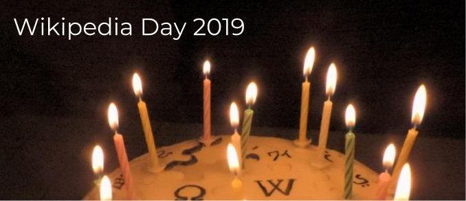 La Wikipedia ya es mayor de edad 🎂¡Felicidades y por muchos más! #Wikipedia18 #Efemerides