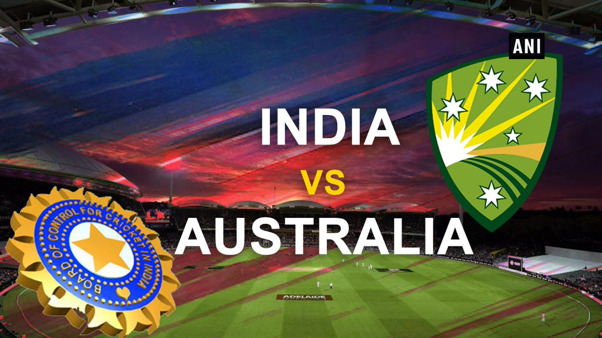 India wins the second ODI by 6 wickets. 3 match series currently level at 1-1. #AUSvsIND