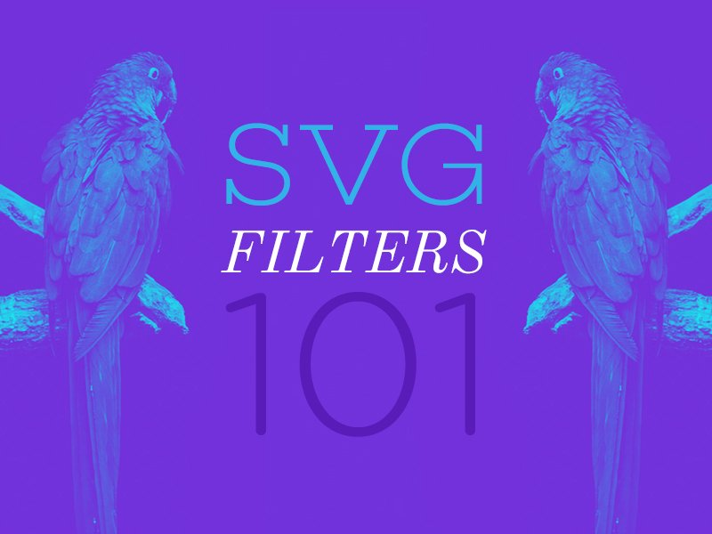 Learn all about SVG filters in this excellent, easy to understand guide by @SaraSoueidan https://tympanus.net/codrops/2019/01/15/svg-filters-101/… #svg #webdev 👌