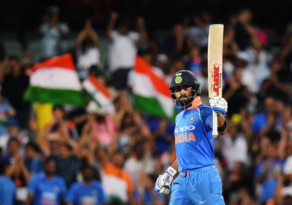 A great win and a fabulous innings by @imVkohli. Yet another at his adopted home ground😉. Excellent role played by @msdhoni and @DineshKarthik to take India over the line.  #INDvAUS