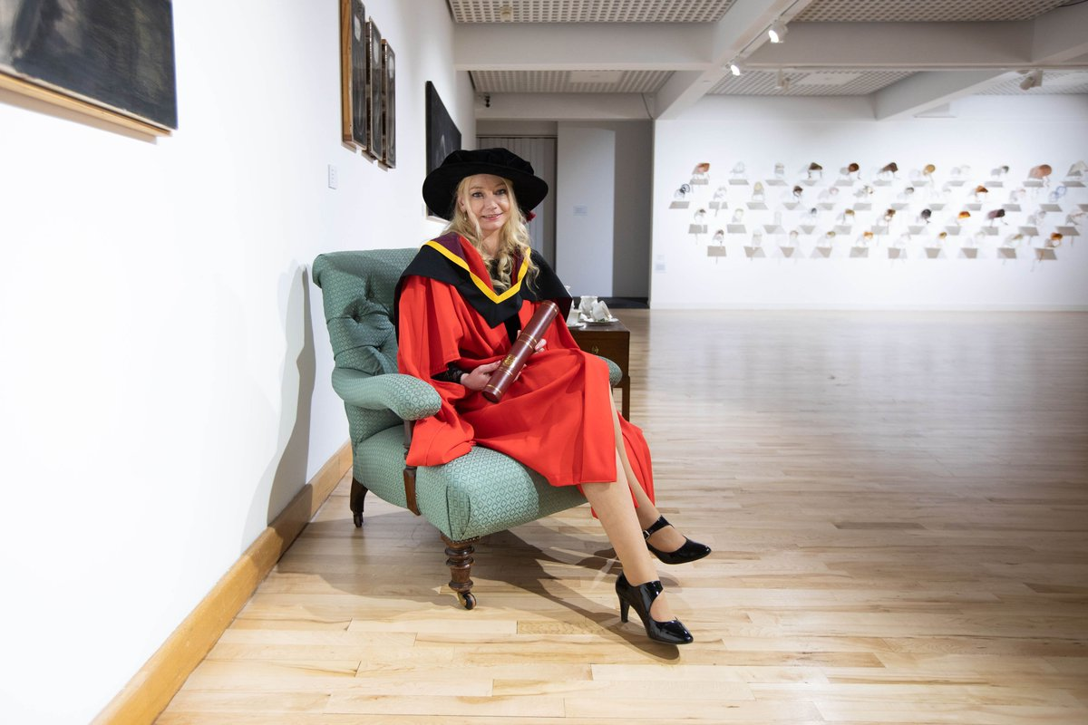 """""""Today is a day of mixed emotions for me. On the one hand, I'm really proud to be the first in the Mincéir (Traveller) community to receive a doctorate, but on the other, It's kind of sad that it's taken until 2019 for it to happen."""" - Dr @SindyLJoyce  #ULGraduation"""
