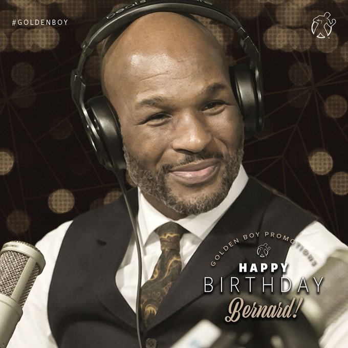 Happy Birthday to our very own, the legendary Bernard Hopkins!