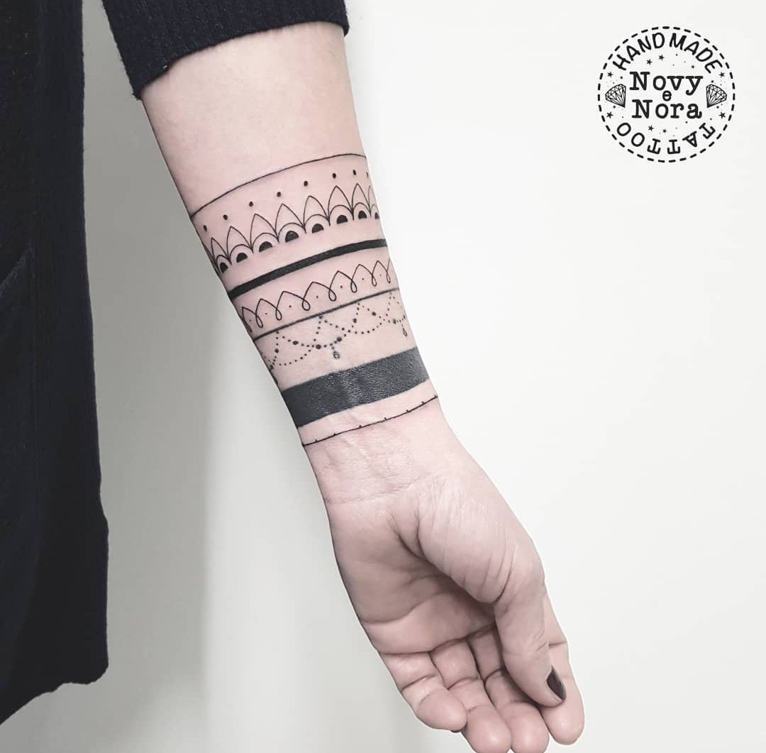 23d306a50 Bracelets Mandala Tattoo #bracelets #blackband #bracelettattoo #mandala  #mandalatattoo #handmandala #handtattoo #handmadetattoostudio #carpi  #girltattoo ...