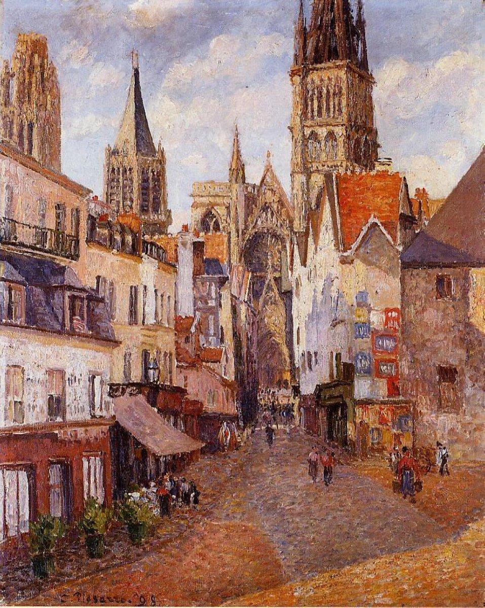 //  Sunlight, Afternoon, La Rue de l&#39;Epicerie, Rouen  Camille Pissarro <br>http://pic.twitter.com/2VPDHIve9P