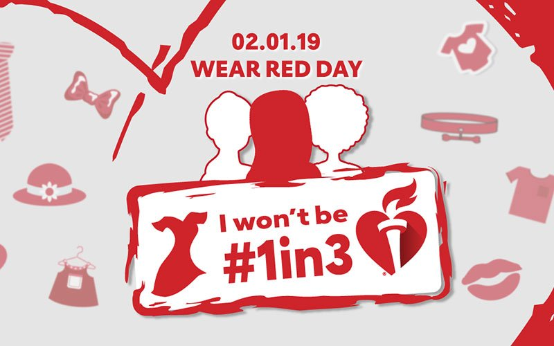 We are proud supporter of the @HeartNashville that encourages healthy lifestyles and addresses the heart disease & stroke epidemic in our country. We will be participating in National Wear Red Day on Feb 1st to raise awareness of this important cause. #WearRedDay #NashGoRed
