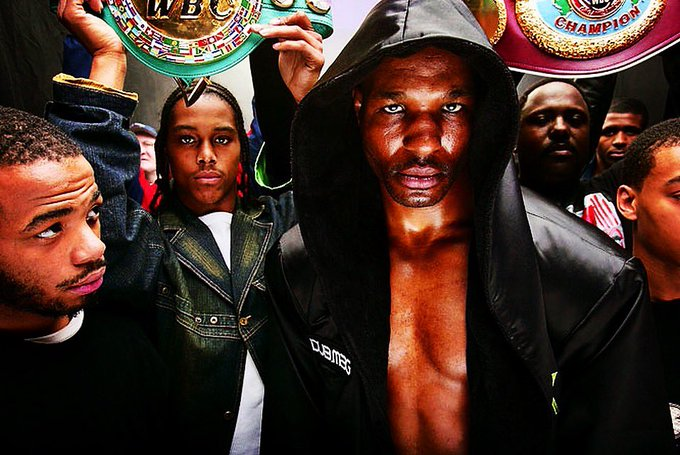 Happy birthday to the ageless Bernard Hopkins!