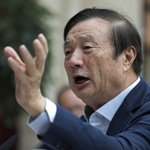 Image for the Tweet beginning: Huawei founder Ren Zhengfei says